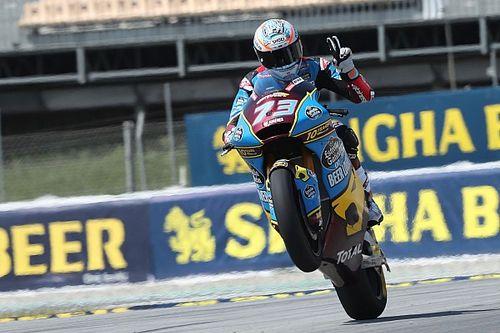 Moto2 Catalunya: Marquez hat-trick, Dimas finis ke-21