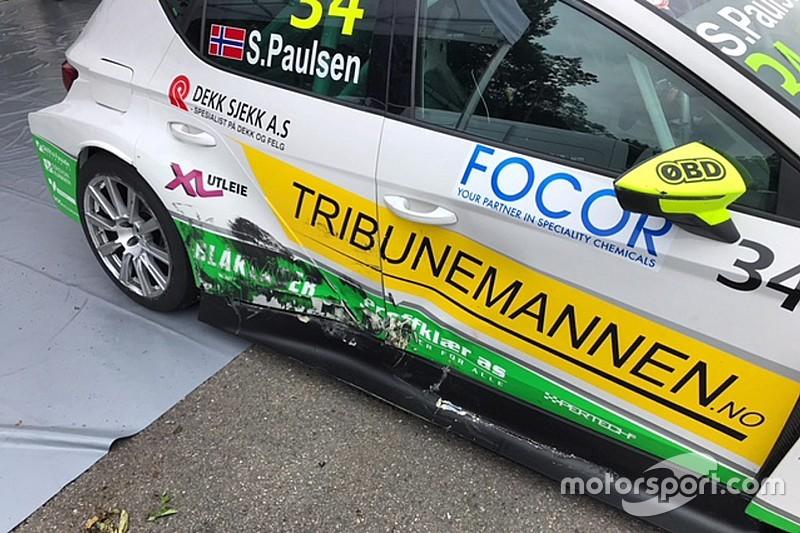 """Paulsen è una furia dopo Spa: """"Nel TCR Europe c'è chi guida da idiota!"""""""