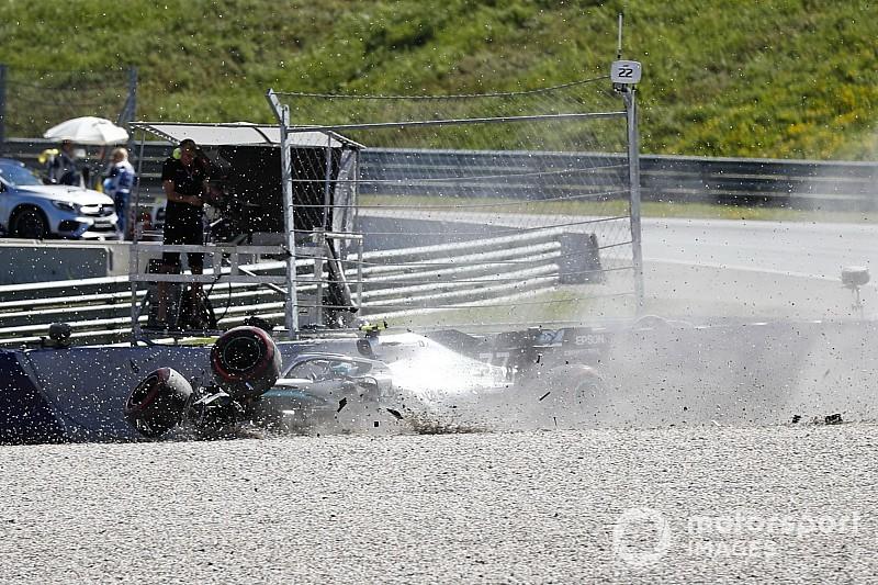"""Bottas: """"L'incidente in curva 6? Dopo l'errore ho reagito, ma era troppo tardi"""""""