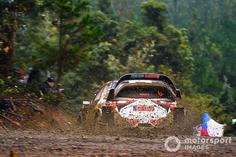 Las mejores imágenes del estreno del WRC en Chile