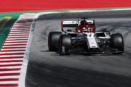 Fotogallery: l'Alfa Romeo Racing nel Gran Premio di Spagna