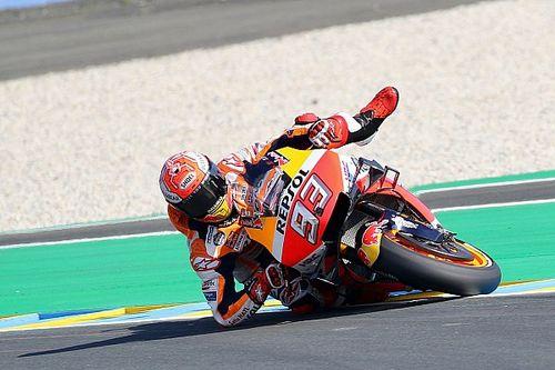 Rossi remekelt a Le Mans-i időmérőn, mégis Marquezé a pole