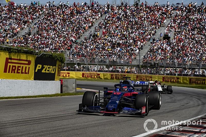 """Kvyat opnieuw punten: """"Niet verwacht door vermogenstekort Honda"""""""