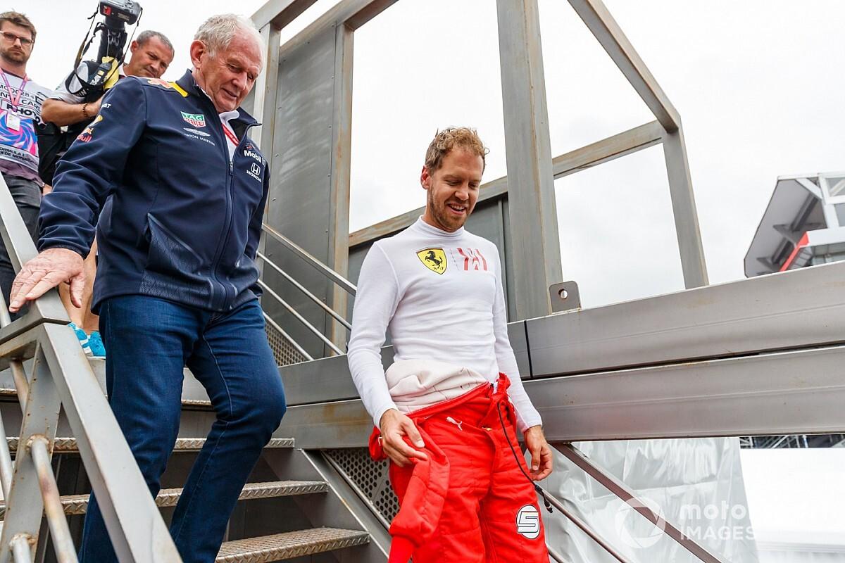 """Marko: """"Vettel heeft geen toekomst meer bij Ferrari"""""""