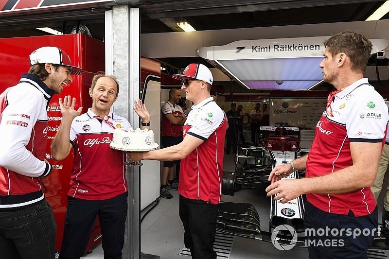 Versenyfelszerelést kaptak Räikkönen gyermekei