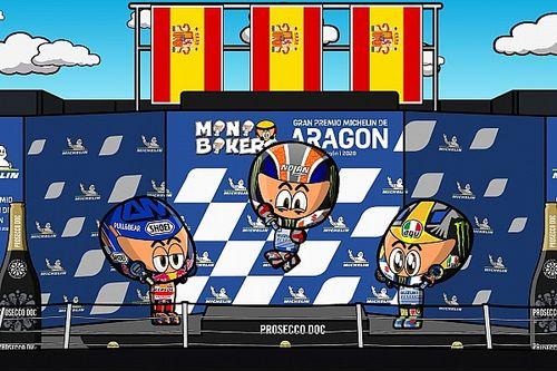 Vídeo: el apasionante GP de Aragón de MotoGP según MiniBikers