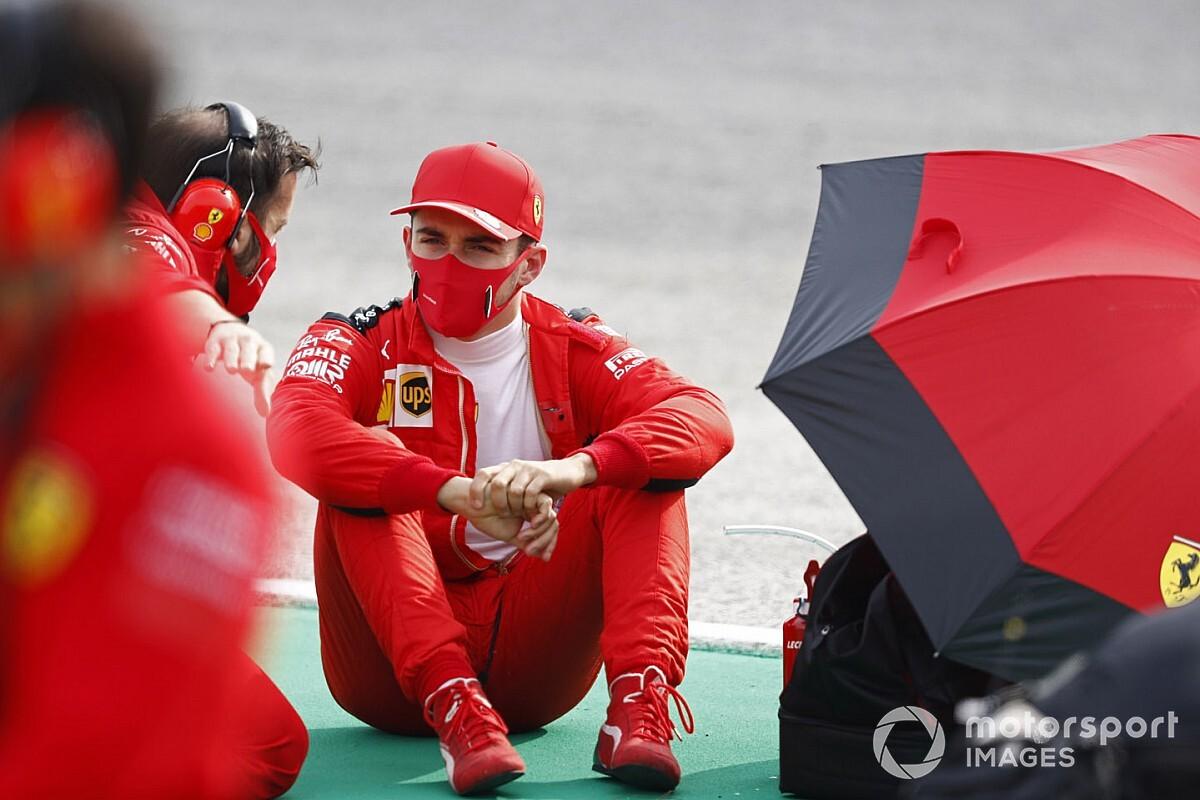 Leclerc, Ferrari'nin gelişiminden memnun
