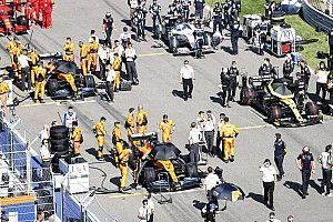 Гран При Айфеля: стартовая решетка