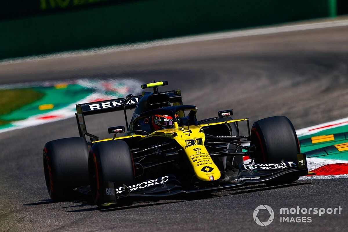 Ocon in radio bust-up with Renault after Italian GP