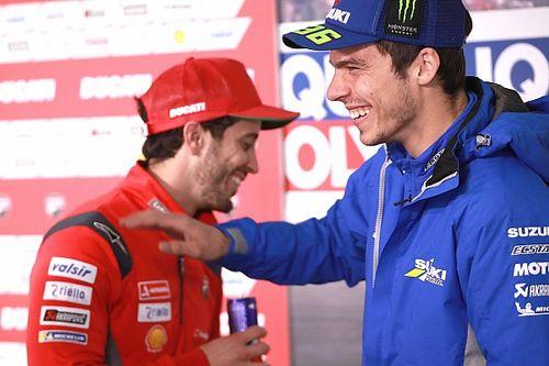 Dovizioso: Mir não precisa de vitória para validar título da MotoGP