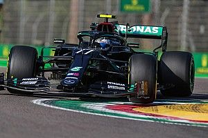 """Bottas, """"temblando"""", tras es el riesgo para lograr la pole en Imola"""