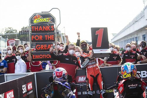 Davies touched by Ducati tributes ahead of farewell win