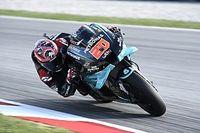 MotoGP Barcelona: Quartararo gewinnt, Rossi stürzt auf Position zwei liegend