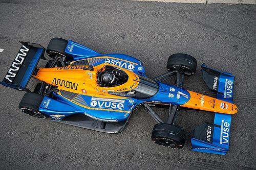 Hulkenberg, ilk IndyCar testinde McLaren SP'yi etkilemiş
