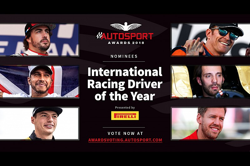 Verstappen genomineerd voor prestigieuze Autosport Awards