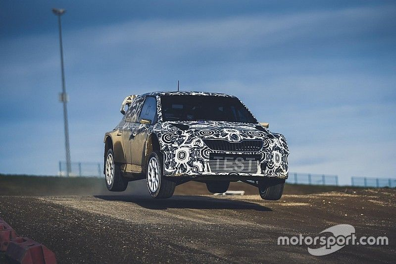 Ostberg weighing up partial World RX programme after test