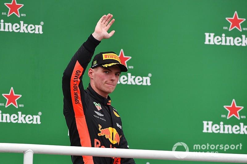 """Max Verstappen """"piloto del día"""" en Interlagos"""