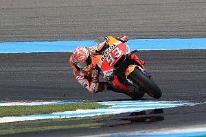 MotoGP Thailand: Warm-up, Marquez di depan duo Yamaha