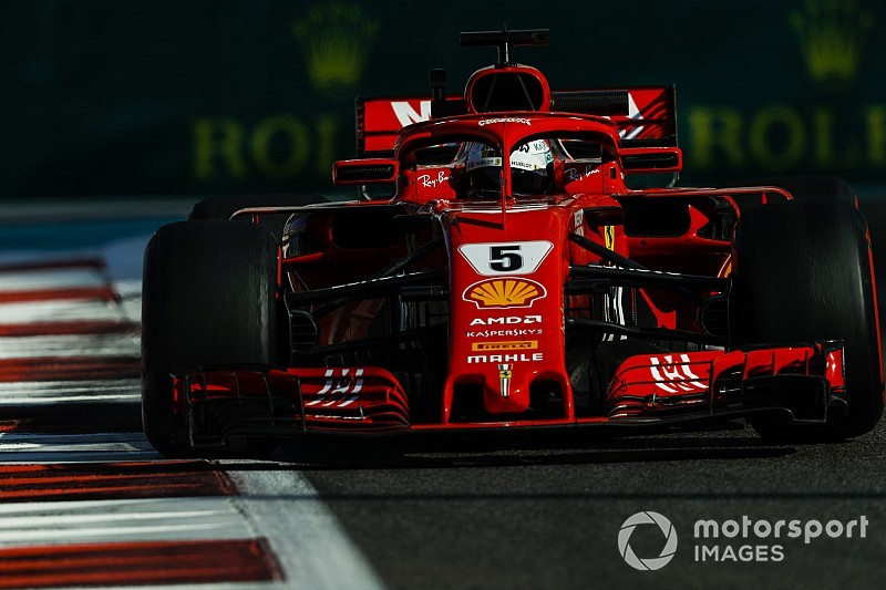 El rojo del coche de Ferrari será más oscuro y opaco en 2019