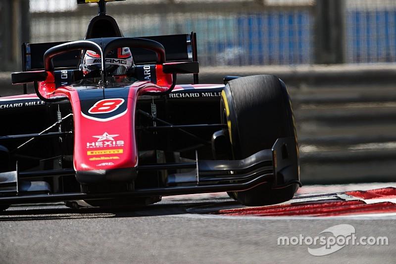 Расселл выиграл квалификацию Формулы 2 в Абу-Даби
