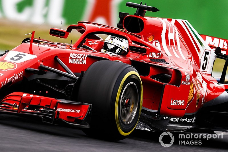 "Ferrari damaging tyres ""more than others"" - Vettel"