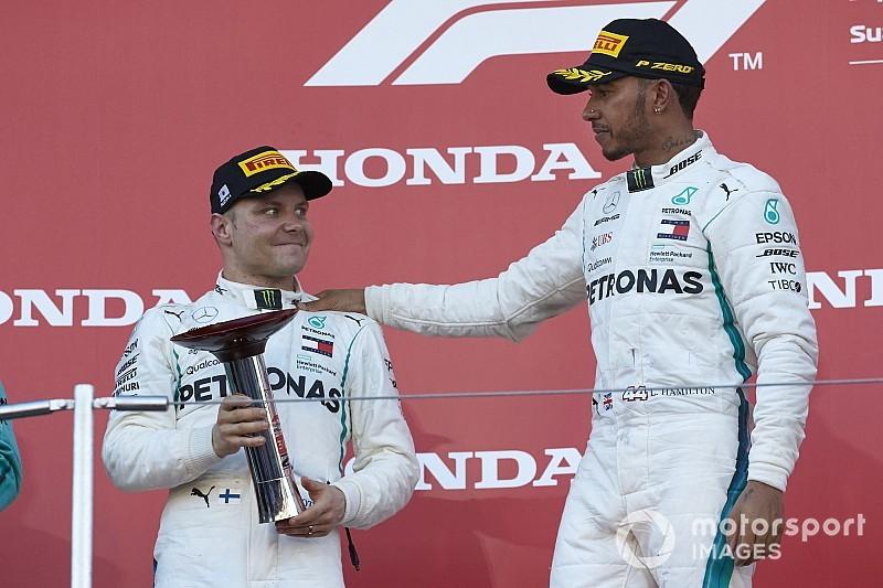Hamilton n'offrira pas de victoire à Bottas