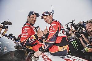 1re victoire de Toyota sur le Dakar :