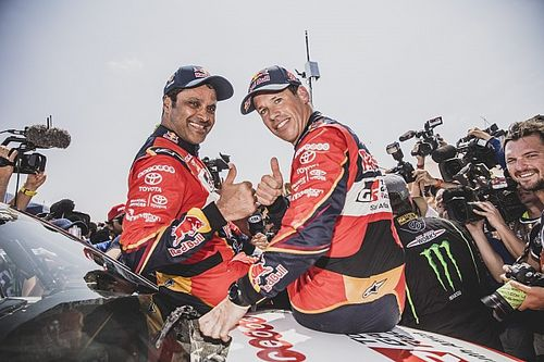 Al-Attiyah le da la primera victoria a Toyota en el Dakar