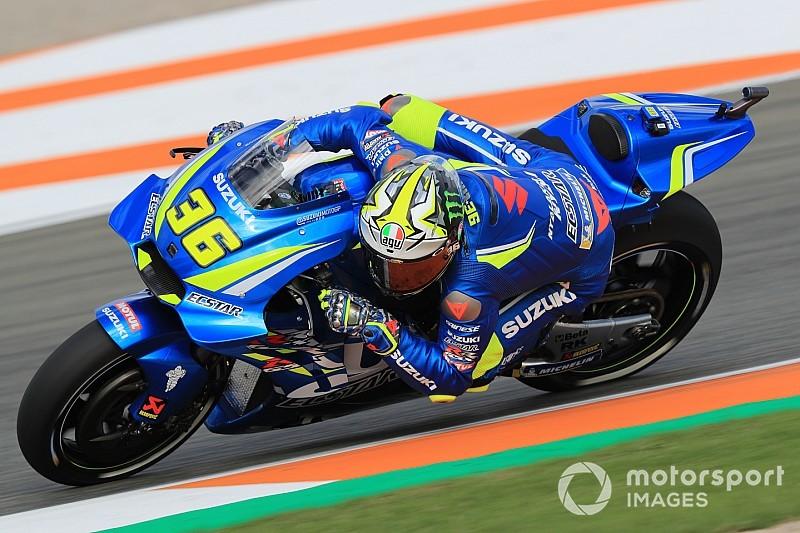 Suzuki-Rookie Joan Mir glücklich: MotoGP-Bike kommt Fahrstil entgegen