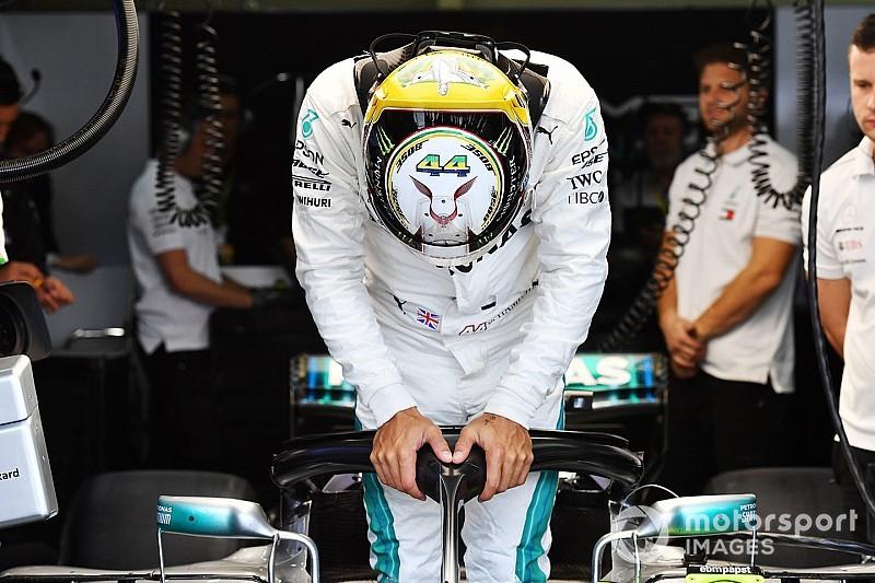 Hamilton nyerte a Brazil Nagydíj időmérő edzését Vettel előtt, aki büntetést kaphat