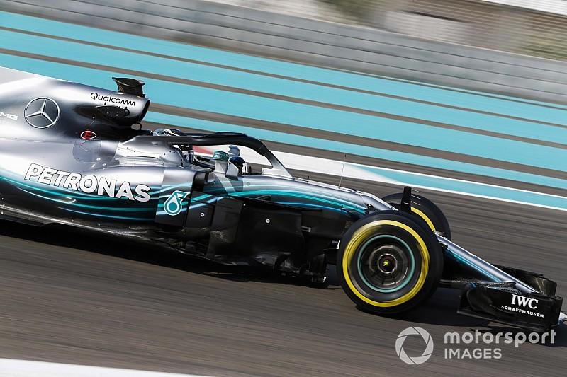 Боттас показал лучшее время первой половины тестового дня Pirelli в Абу-Даби