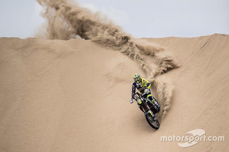 Santolino, el mejor 'rookie' del Dakar, abandona