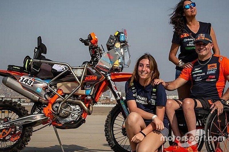 Nicola Dutto, el parapléjico que hizo historia en el Dakar, a pesar de no terminar