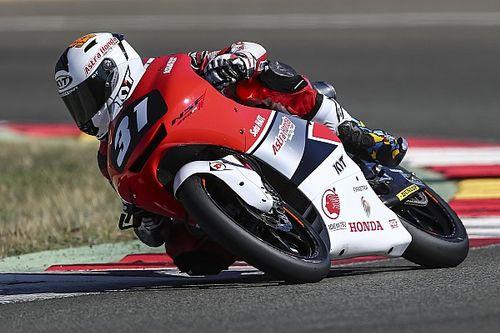 CEV Moto3 Valencia: Yuki Kunii pole, Gerry Salim tercecer