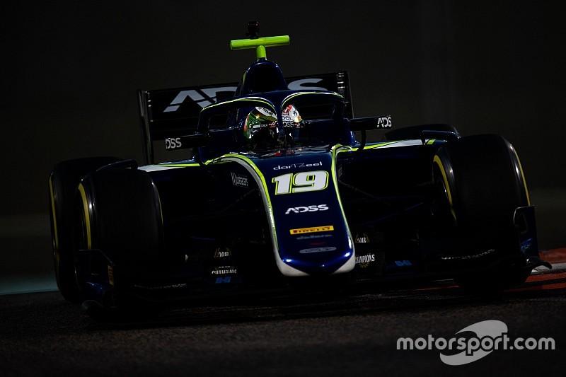 F2アブダビテスト3日目:松下信治7番手でテストを終える。GP3では角田が2番手