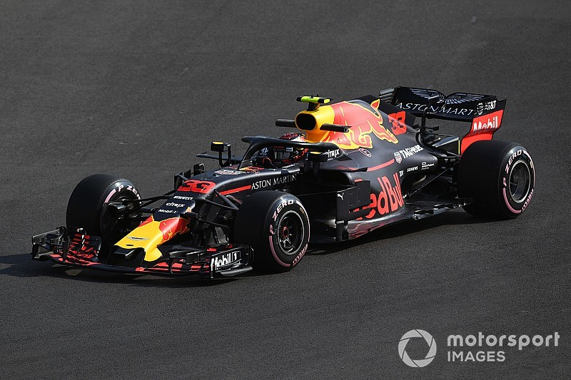 Meksika GP 1. antrenman: Verstappen lider, Red Bull 1-2