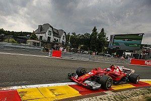 Пилоты Ferrari стали быстрейшими в субботней тренировке в Спа