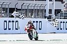 【MotoGPコラム】最高峰クラス昇格決定直後、中上が挙げた勝利の意味