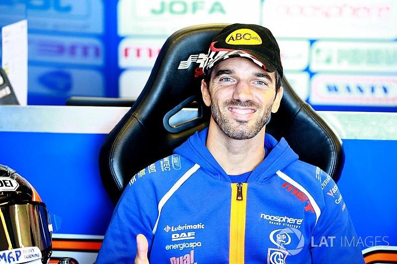 Alex De Angelis corre in Moto2 anche a Misano: sostituisce Schrotter