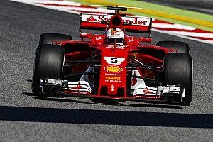【F1】初日苦戦のベッテル「遅れは自分の問題。アップデートには満足」
