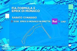 Formula E Ultime notizie Ecco la programmazione TV dell'ePrix di Monaco