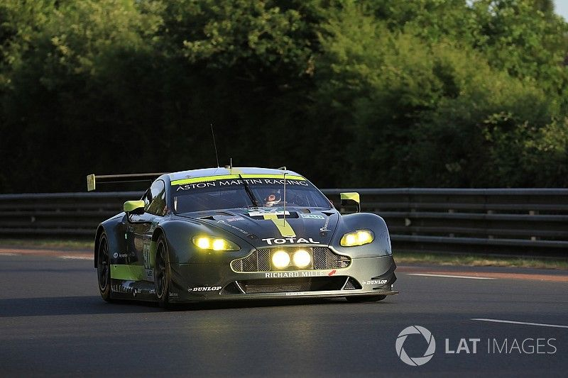 """La pole, """"un bon début"""" pour Aston Martin"""