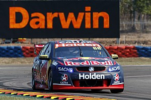 Supercars Practice report Darwin Supercars: Whincup edges McLaughlin in second practice