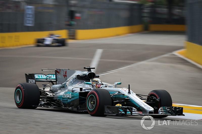 """Hamilton: """"A Mercedes problémái 2018-ig nem oldódnak meg"""""""