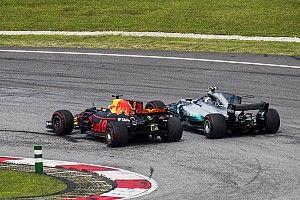 """Horner: Ricciardo's inhaalacties in 2017 zijn """"subliem"""""""