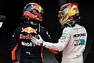 Verstappen apuesta por Hamilton para el título
