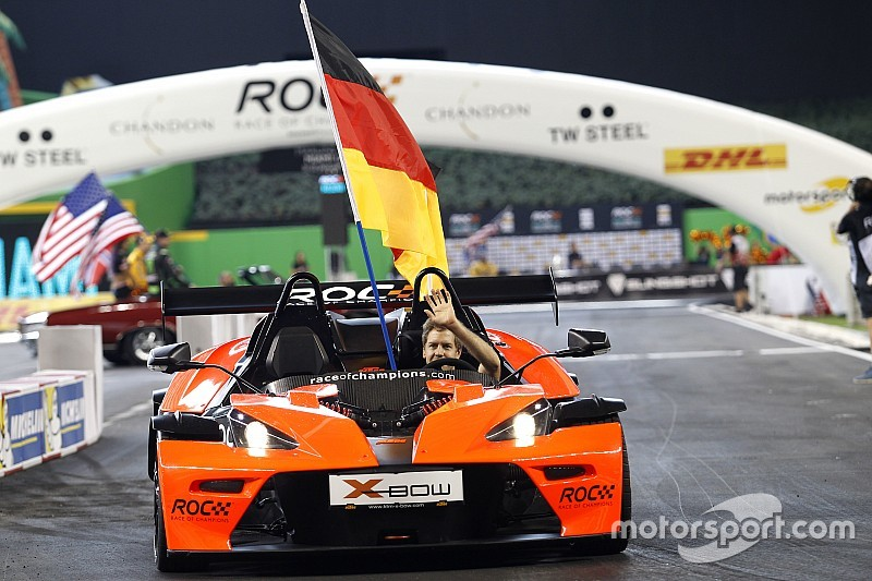Vettel and Coulthard join Race of Champions in Mexico