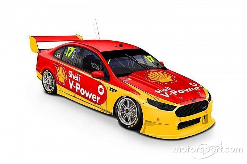 Shell reveals Penske Supercars livery concepts