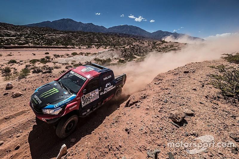 Toyota drivers expect more Dakar frontrunner dramas
