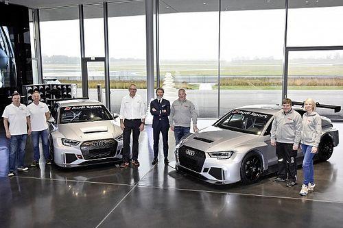 Consegnati i primi due esemplari dell'Audi RS 3 LMS TCR per la 24h di Dubai
